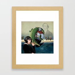 The Jewish Girl Framed Art Print