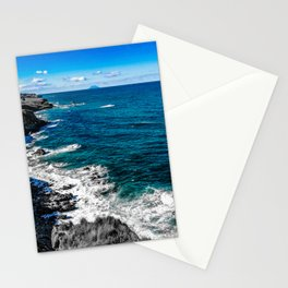Mediterranean sea Stationery Cards