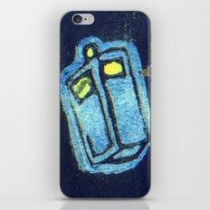 Doctor Who: Abstract Tardis Starfield iPhone & iPod Skin