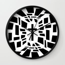 Christian Cross Wall Clock