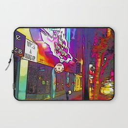 Hollywood Boulevard in the night Laptop Sleeve