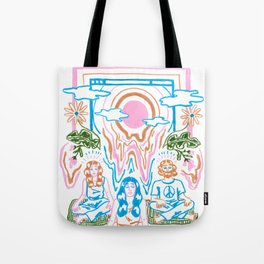 The Unbearable Hotness of Being Tote Bag