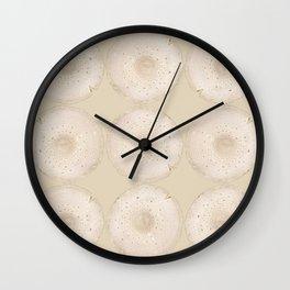 Modern Mushroom Cream I Wall Clock