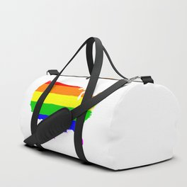 United States Gay Pride Flag Duffle Bag