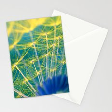 dandelion abstract Stationery Cards
