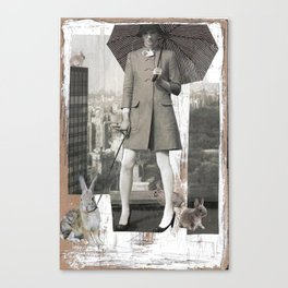 In the Big City Canvas Print