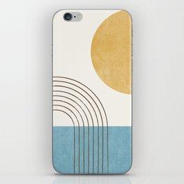 Sunny ocean iPhone Skin