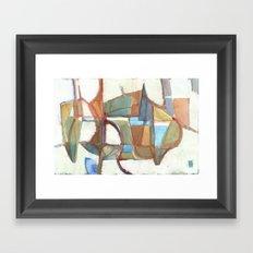 THE GENTLE BEAST Framed Art Print
