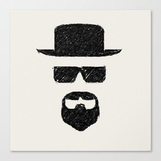 Heisenberg: Sketch Canvas Print
