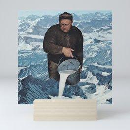 Milky Mountain Mini Art Print