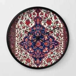 Farahan Arak West Persian Rug Print Wall Clock