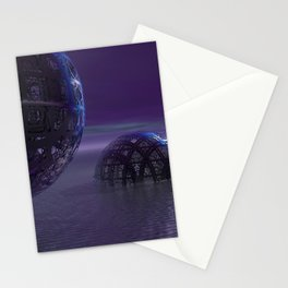 Mysterious Orbs Stationery Cards