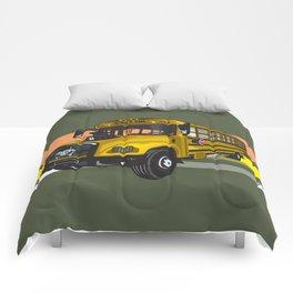 School bus Comforters