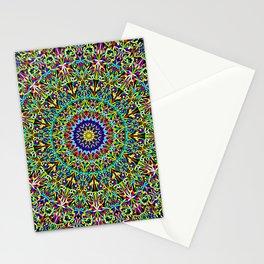 Happy Spiritual Garden Mandala Stationery Cards