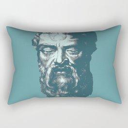 Heraclitus Rectangular Pillow