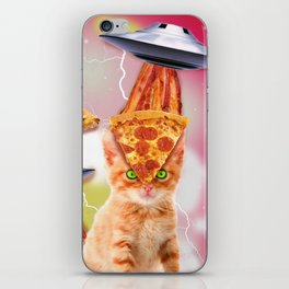 alien cats and the ufos iPhone Skin
