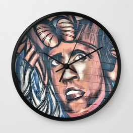 another birck head Wall Clock