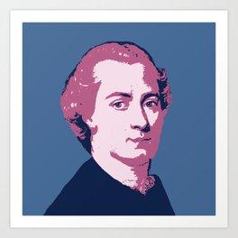 Immanuel Kant Art Print