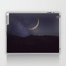 Moon and stars landscape Laptop & iPad Skin