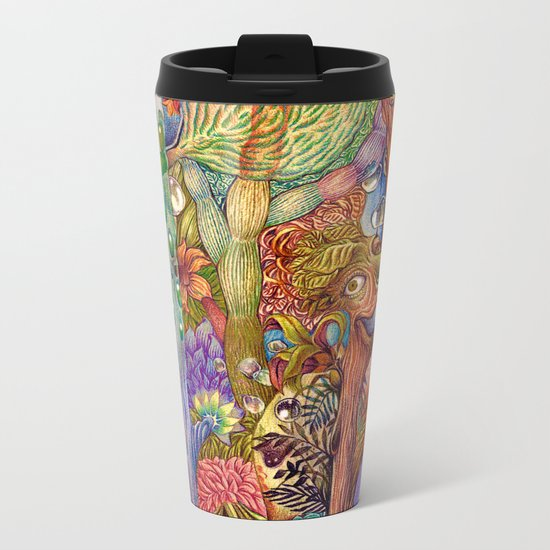 Head nature (Details) Metal Travel Mug