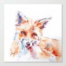 Let me be . . .  Red Fox Canvas Print
