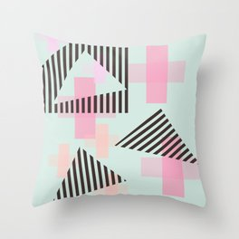 Gem & Mineral Show Throw Pillow