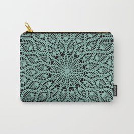 Delicate Teal Carry-All Pouch
