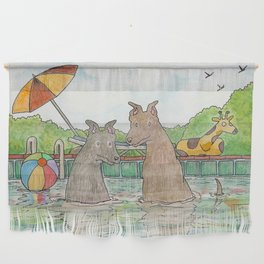 Pool Party Wall Hanging