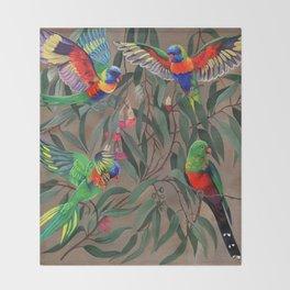 Birds of Paradise. Throw Blanket