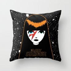 Emily Stardust Throw Pillow