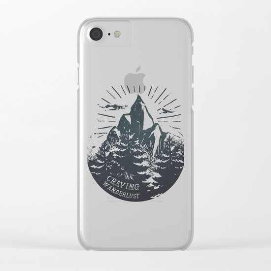 Craving wanderlust III Clear iPhone Case