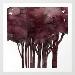 Tree Impressions No.1K by Kathy Morton Stanion Art Print