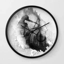 Splash Forest Rider Wall Clock