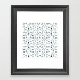 AFE Tribal Pattern Framed Art Print