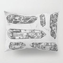 Arrangement of Crystals Pillow Sham