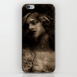 Vintage Beauty iPhone Skin