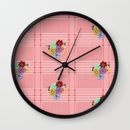 Floral Chimagh Wall Clock