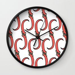 Chilli Pepper Wall Clock