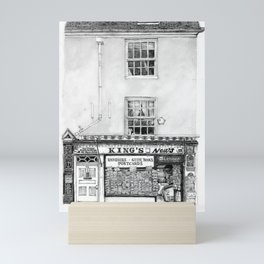 King's Newsagents, Kings Parade, Cambridge, UK. Mini Art Print