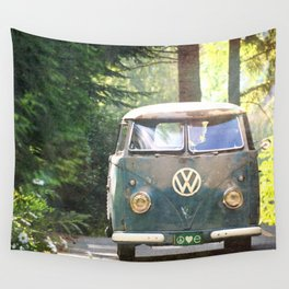 Peace Love Nature Wall Tapestry