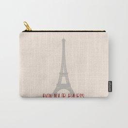 Bonjour Paris Carry-All Pouch