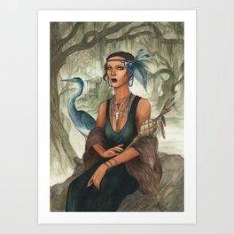 Arthemie ~ A Compendium Of Witches Art Print