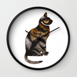 THE TIGER WITHIN Wall Clock