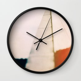 Sunset Sail Wall Clock