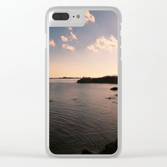 sunset in Sardinia Clear iPhone Case