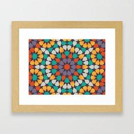 Scattered Petals Framed Art Print