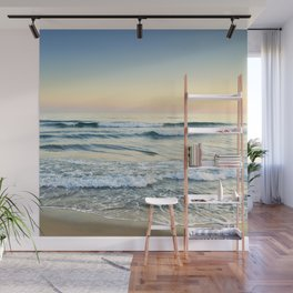Serenity sea. Vintage. Square format Wall Mural