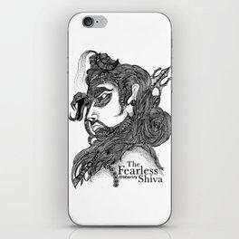 The Fearless Shiva iPhone Skin