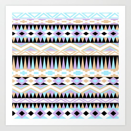Pattern Play Art Print