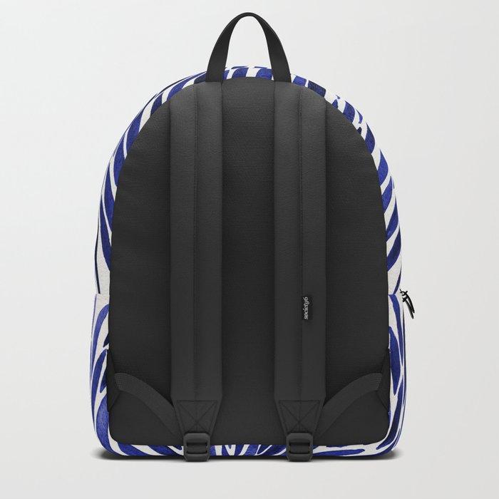 Navy Burst Backpack